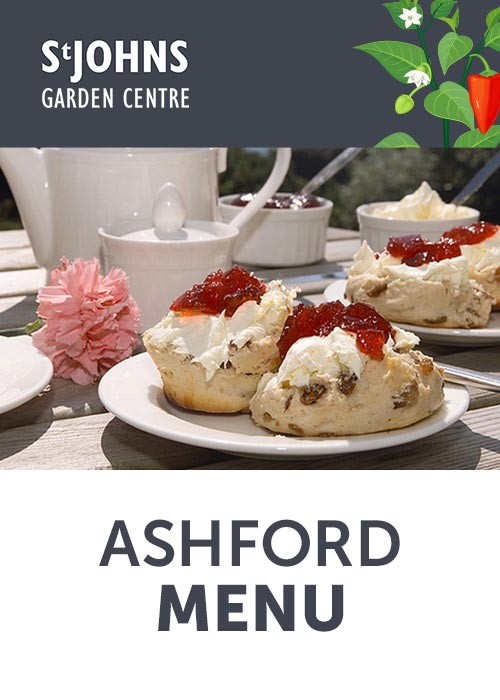 Ashford Menu - St John's Garden Centre