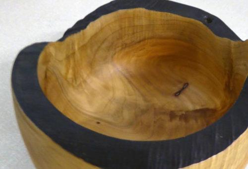 black edged bowl