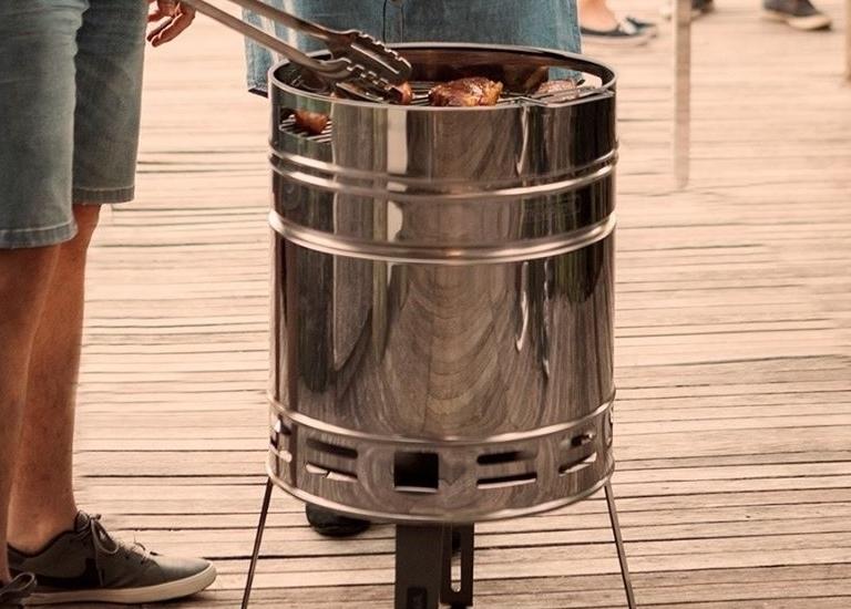 Tramontina Beer Barrel Grill