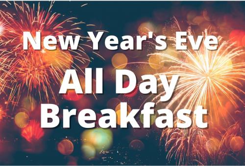 New Years Eve Breakfast